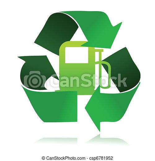 eco fuel recycle - csp6781952