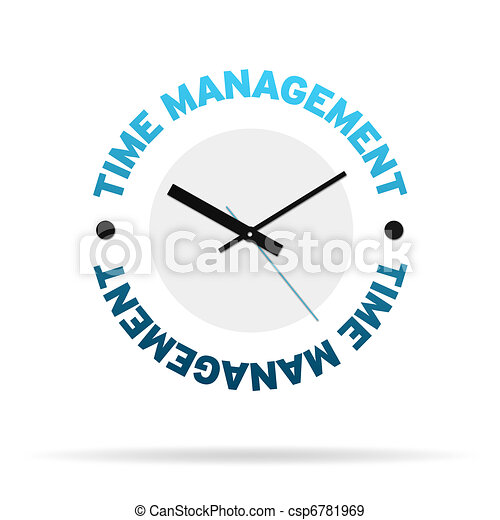 Time Management Clock - csp6781969