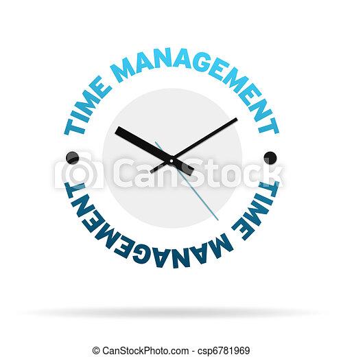 Time Management Clock - csp6781969