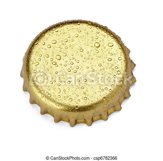 bottle cap drink beverage - csp6782366