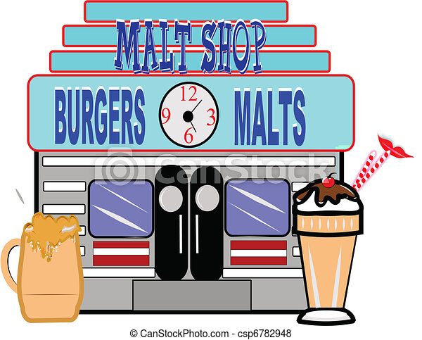 Soda shop Illustrations and Clipart. 483 Soda shop royalty free ...