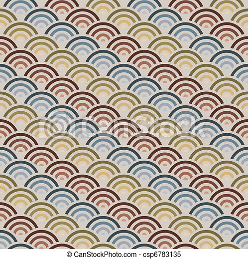 Orient style circles background - csp6783135