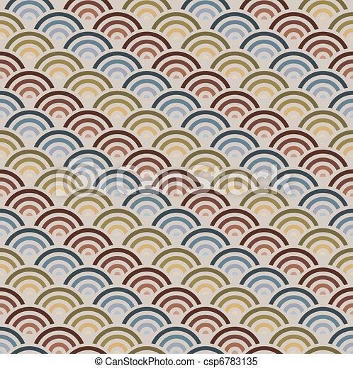Orient style circles background - csp6783135