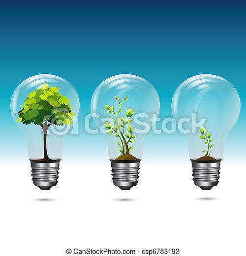 Growing Green Technology - csp6783192