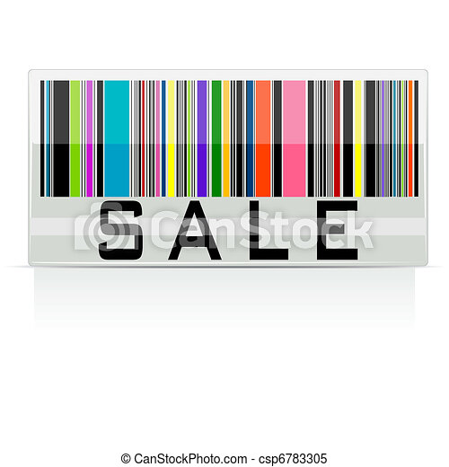 Colorful Sale Barcode - csp6783305