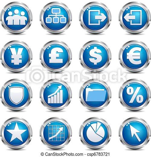 Web Site & Internet Icon - SET THRE - csp6783721