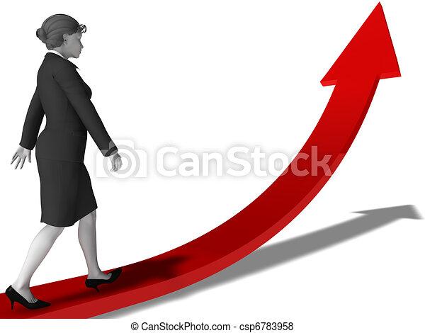 Women career planning - csp6783958