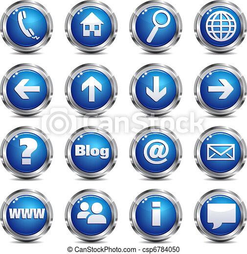 Web Site & Internet Icon - SET ONE - csp6784050
