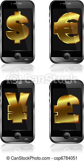 cashless payment system concept - csp6784051