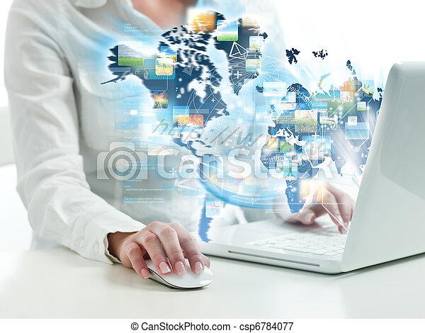 Internet surfing - csp6784077
