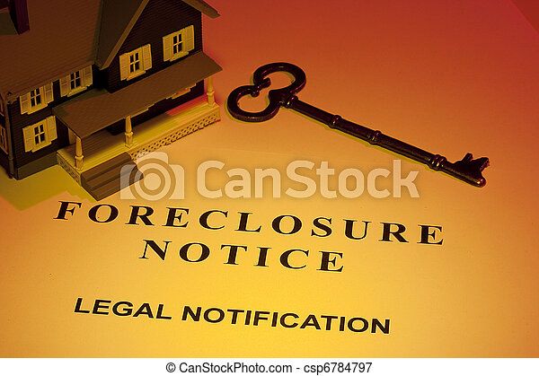 Foreclosure Notice - csp6784797