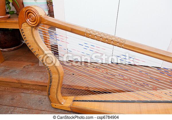 Mexican harp - csp6784904