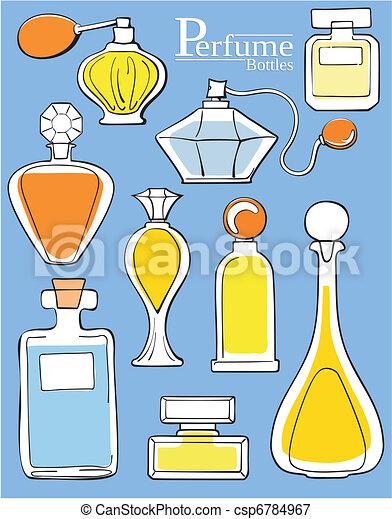 perfume bottles - csp6784967