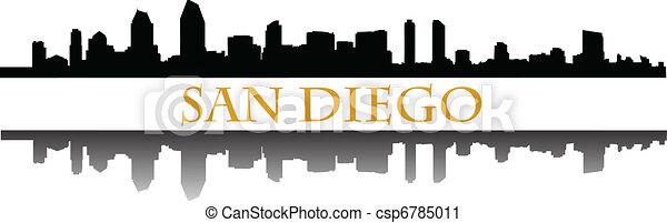 San Diego - csp6785011