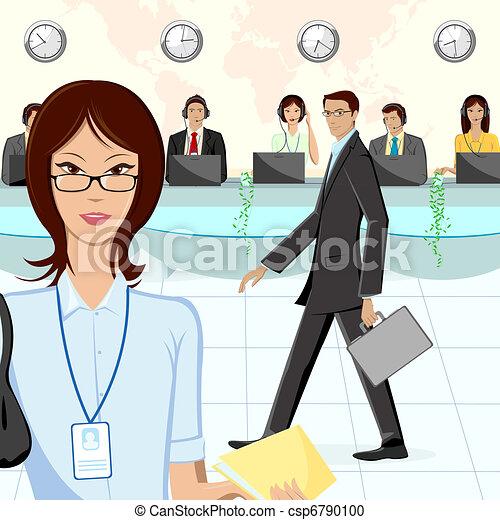Call Center - csp6790100