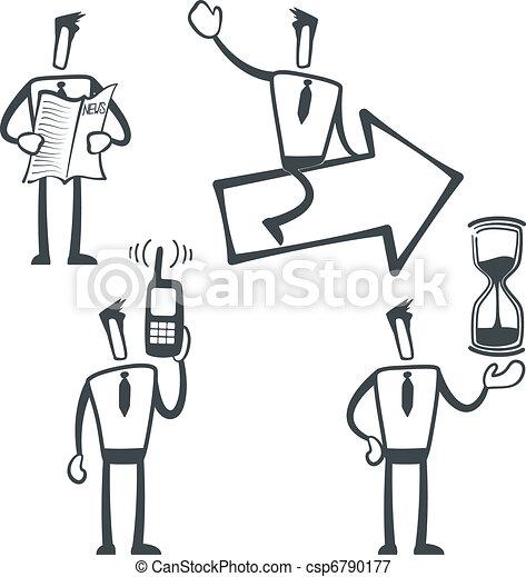 Sketch man - csp6790177