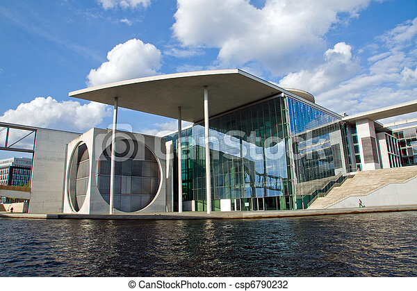 New government building in Berlin - csp6790232