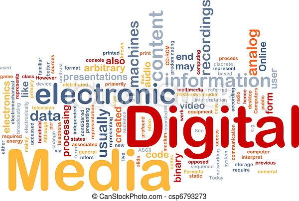 Digital Media Free Clipart