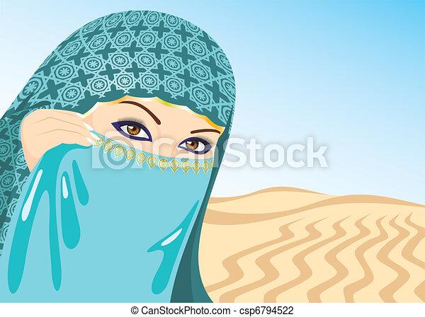 Muslim Woman - csp6794522