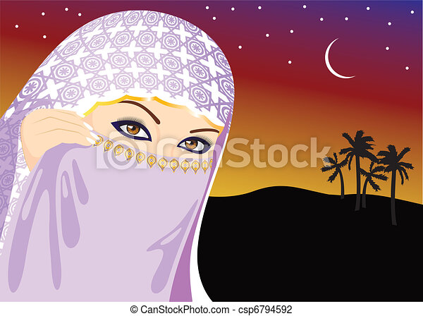 Muslim Woman - csp6794592