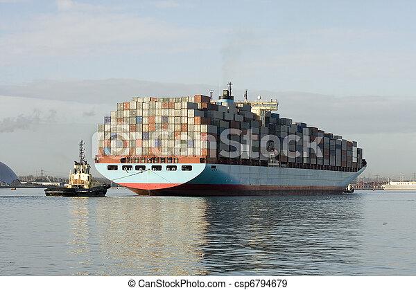 Container ship - csp6794679