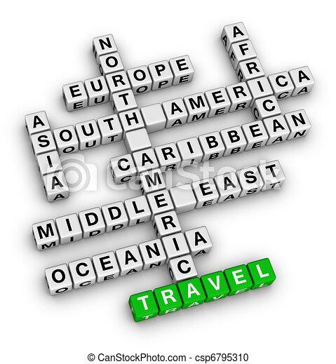 travel direction - csp6795310