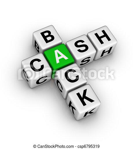 Back Icon Logo Cash Back Icon Csp6795319