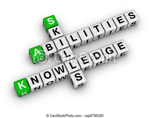 Skills, Knowledge, Abilities - csp6795320