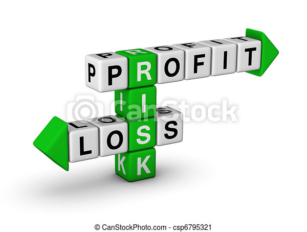 Risk - Profit and Loss - csp6795321