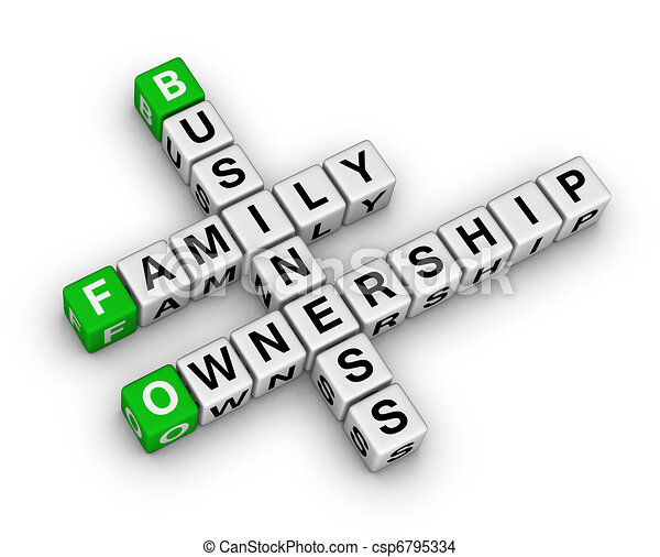 business family ownership - csp6795334