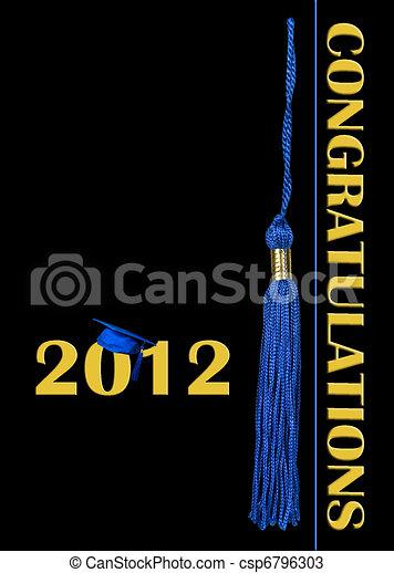 2012 Graduation - csp6796303
