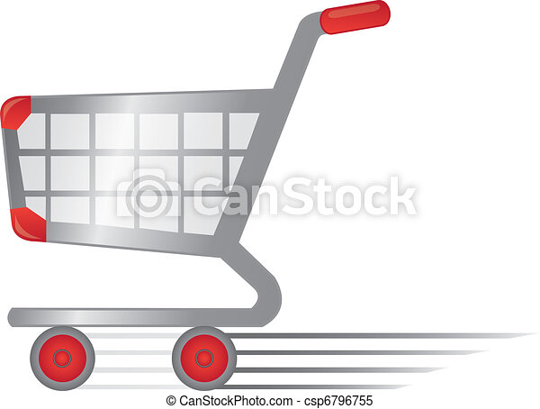 rapid shopping cart - csp6796755