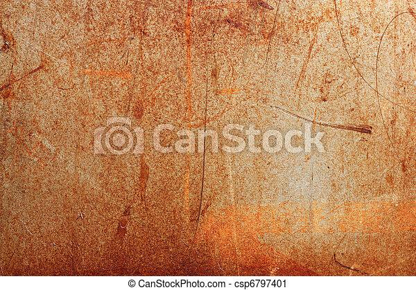 photographies de brun rouill fer papier peint texture fond rouill csp6797401. Black Bedroom Furniture Sets. Home Design Ideas