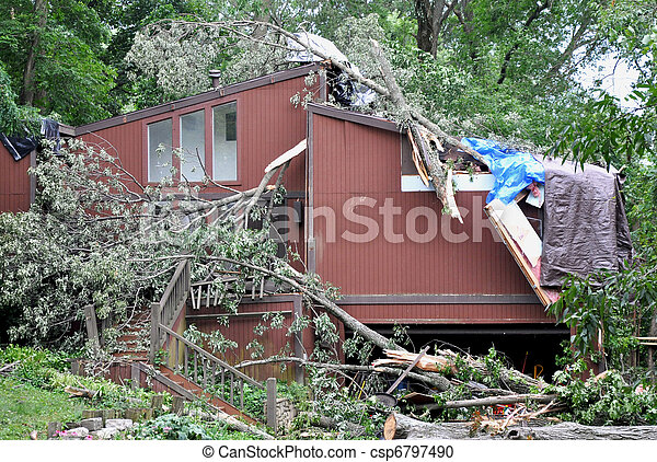 Storm damage - csp6797490