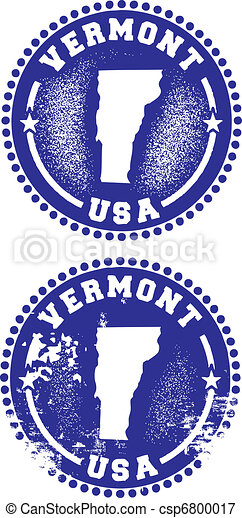 Vermont USA Stamps - csp6800017
