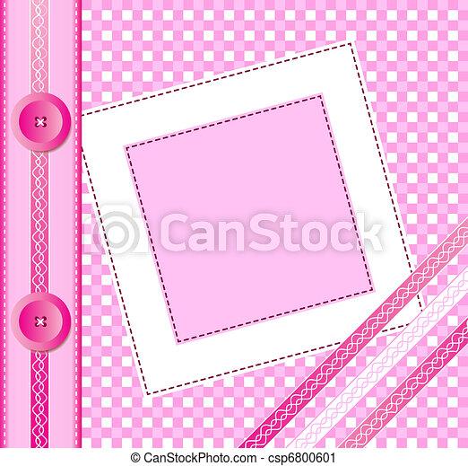 Pink album cover - csp6800601