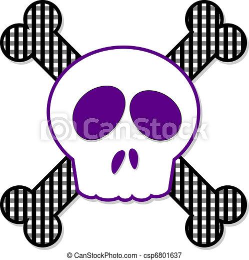 Skull and Crossbones - csp6801637