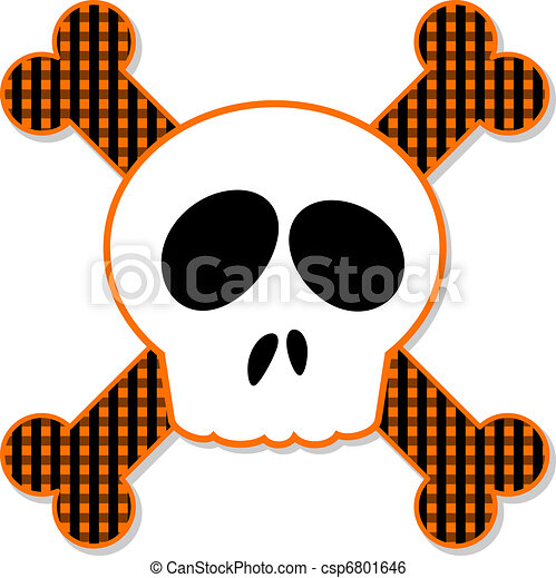 Skull and Crossbones - csp6801646