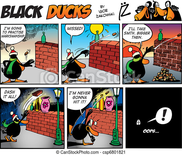 Black Ducks Comics episode 68 - csp6801821