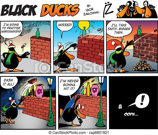 Black Ducks Comics episode 68 - csp6801821