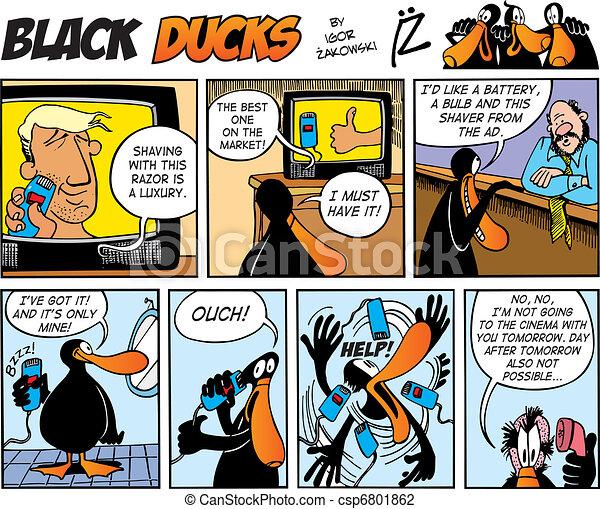 Black Ducks Comics episode 69 - csp6801862