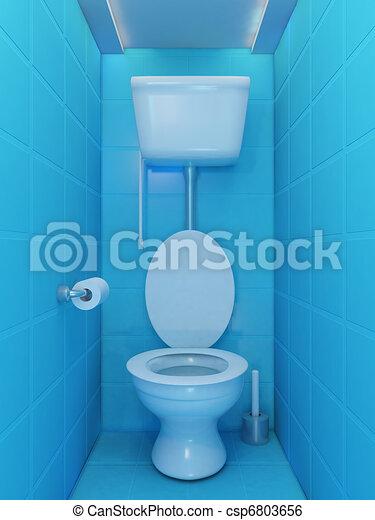 illustration de toilette int rieur int rieur de toilette salle dans csp6803656. Black Bedroom Furniture Sets. Home Design Ideas