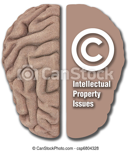 Intellectual Property IP asset copyright - csp6804328