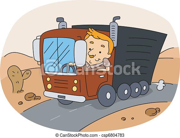 Truck Driver - csp6804783