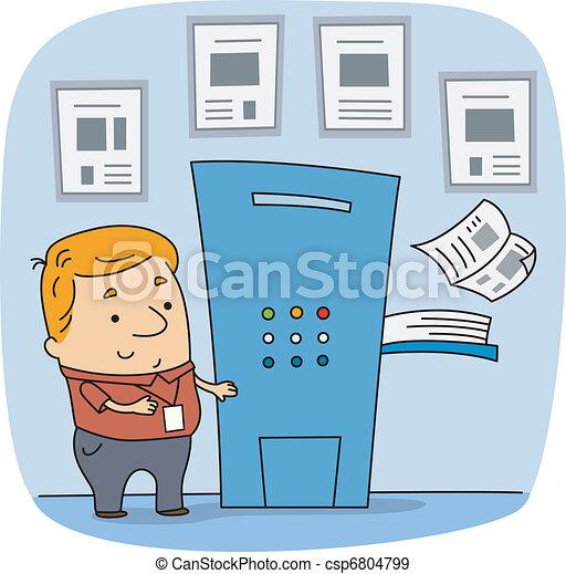 Press Worker - csp6804799