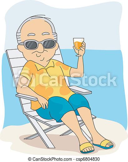Retirement Vacation - csp6804830