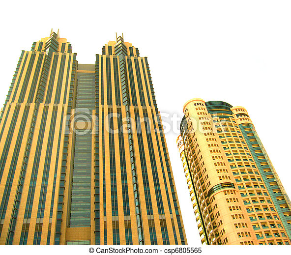 High-rise buildings - csp6805565