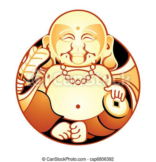 Happiness God - csp6806392