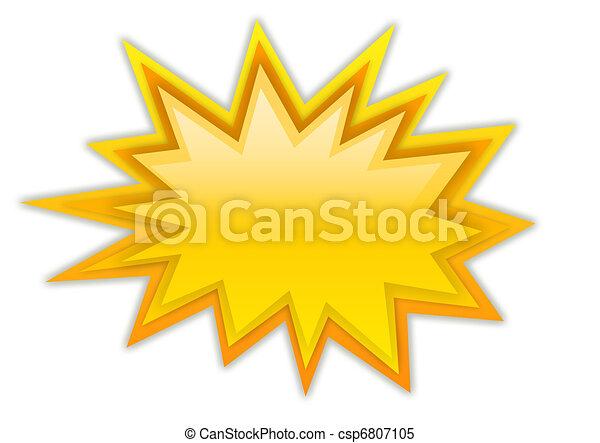 Boom splash star - csp6807105