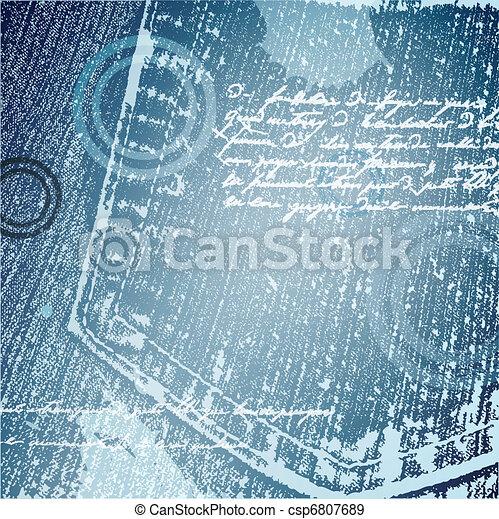 jeans background - csp6807689